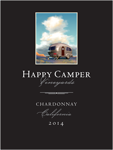 2016 Happy Camper Chardonnay - Label