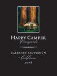 2016 Happy Camper Cabernet Sauvignon - Label