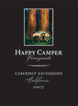 2017 Happy Camper Cabernet Sauvignon - Label