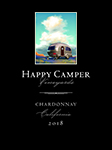 2018 Happy Camper Chardonnay - Label